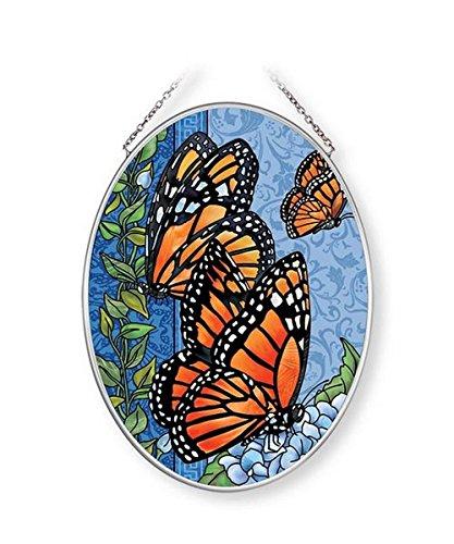 (Amia Majestic Monarch Glass Suncatcher Multicolor)