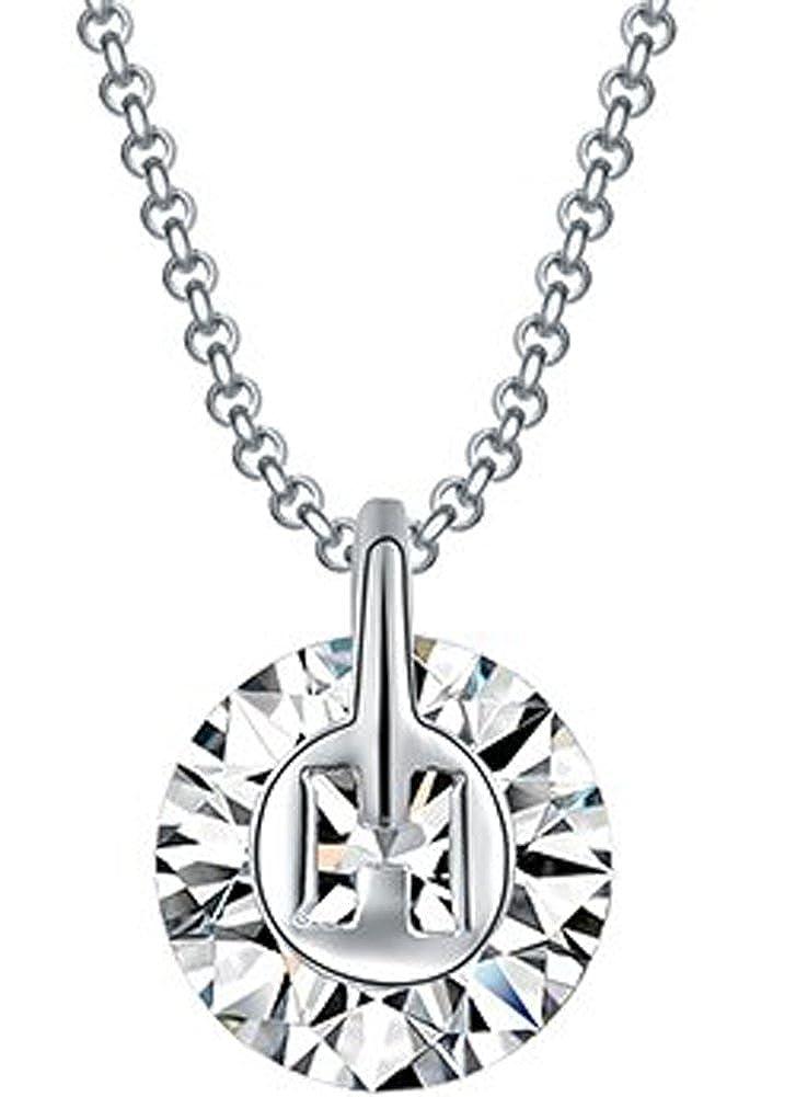 Richy-Glory Austrian crystal women necklace Single crystal vintage