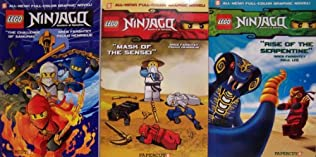 book cover of Ninjago Graphic Novels Boxed Set #1-3