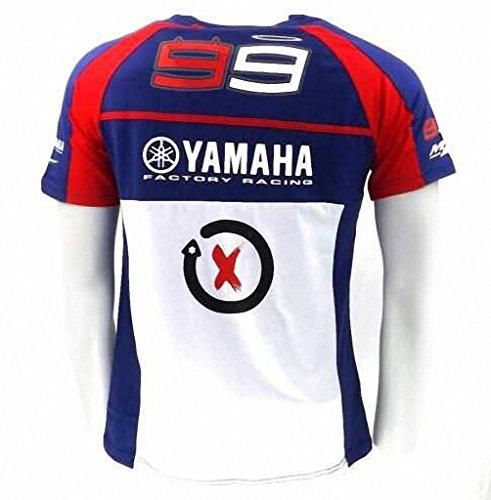 Lorenzo 99 Yamaha New Crew Collar Fans T Shirt