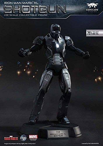 Iron Man 3 Super Alloy Shotgun 1/12 Collectible Figure [Mark XL] (Super Alloy Iron compare prices)