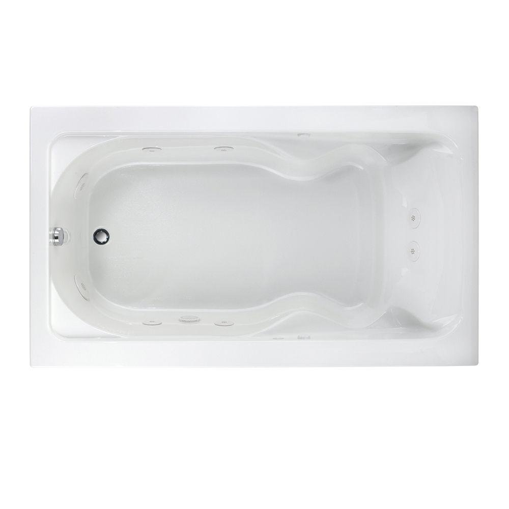 American Standard 2774018W.020 Cadet 6-Feet by 42-Inch Whirlpool with Hydro Massage System-I, WhiteAmerican Standard 2774018W.020 Cadet 6-Feet by 42-Inch Whirlpool with Hydro Massage System-I, White