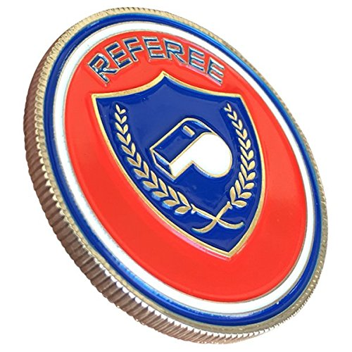soccer referee coin