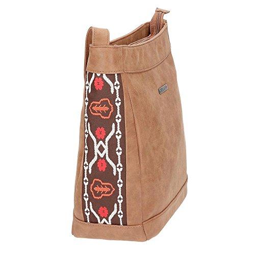 Jeans Bolso Beige 2 11 Negro litros cm Bandolera Liza 32 Pepe Pqa1HHx