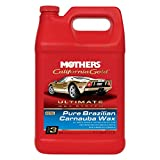 Mothers 05752-4 California Gold Pure Brazilian Carnauba Liquid Wax (Ultimate Wax System, Step 3) - 1 Gallon, (Pack of 4)