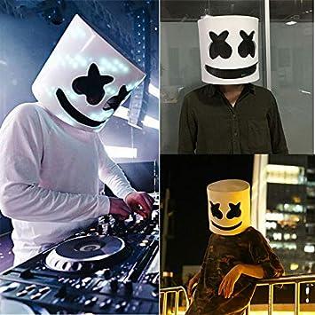 Alician for Marshmello - Máscara de Ojos para Casco de DJ, Cabeza ...