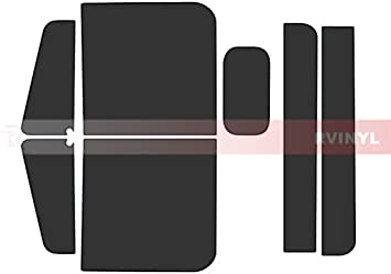 Rtint Window Tint Kit for Freightliner Classic 1996-2005 - Front Kit 35/% XL Conventional Cab Base