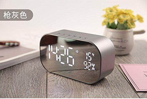 xingganglengyin Bluetooth Speaker Wireless Mini Mobile Alarm Clock Small Sound Computer Car Subwoofer by xingganglengyin (Image #4)