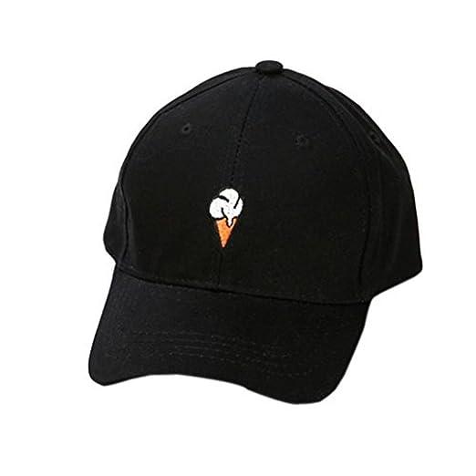 Amazon.com  Ximandi Little Ice Cream Baseball Caps e7a5f77163f