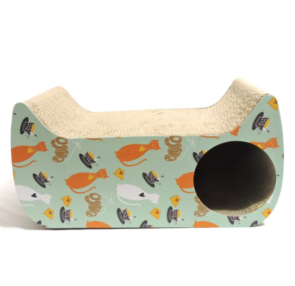 Cat Scratch Board Cat Catch Corrugated Cardboard Cat Litter Cat House Claws Supplies Carton House