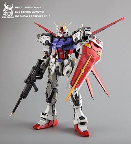 Mo Show Metal Build Plus GAT-X105 Aile Strike Gundam 1/72 Sc