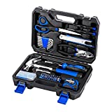 PROSTORMER Home Repair Tool Kit, 49-Piece Portable General Household Hand Tool Set with Tool Box Storage Case - Great Gift for Beginners
