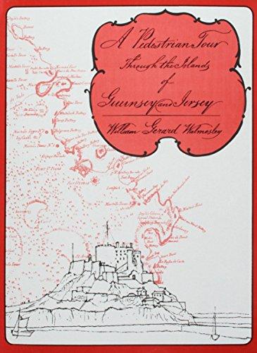 A Pedestrian Tour through the Islands of Guernsey and Jersey - Map Jersey Guernsey