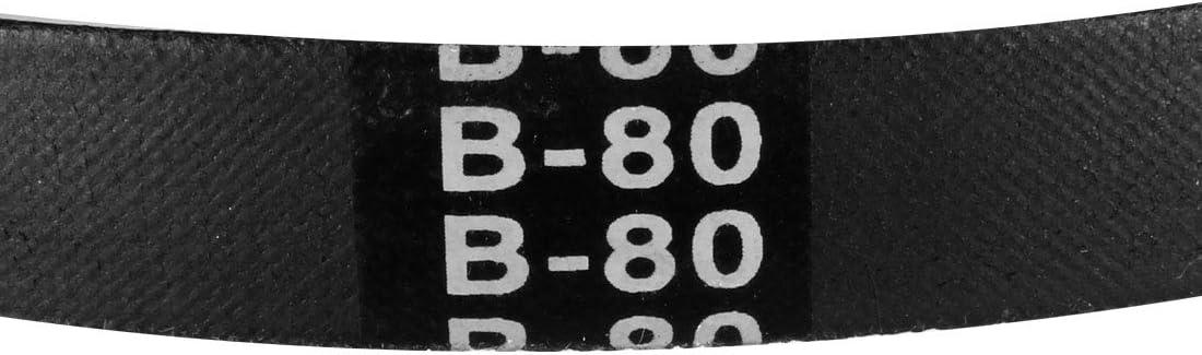 potenza industriale gomma cinghia trasmissione sourcing map B82 Cinghia a V Circonferenza 82