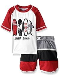 iXtreme Boys' Surf Rash Guard Swim Set