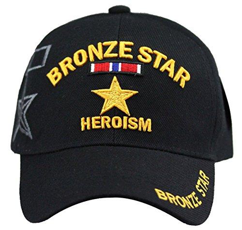 Accessories Bronze Cap (U.S. Military Cap Hat Vietnam Veteran ARMY MARINE NAVY AIR FORCE (BRONZE STAR))