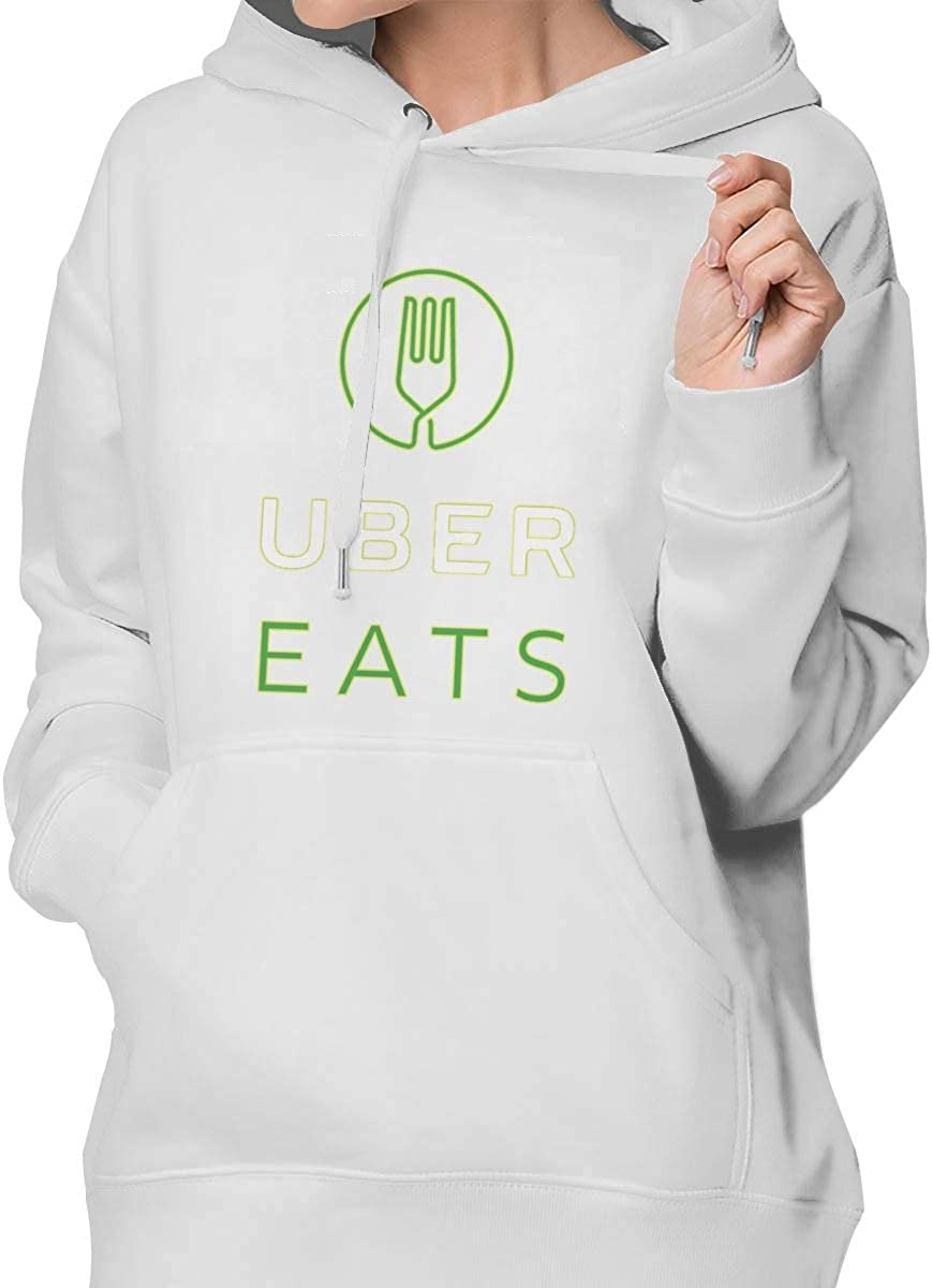 Uber Eats Fashion Womens Sweater White S