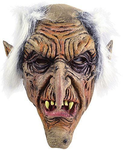 Goblin Costume Uk (Rubber Goblin Overhead Mask)