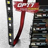 "OPT7 60"" Redline Flexible LED Tailgate Light Bar - TriCore LED - Weatherproof"