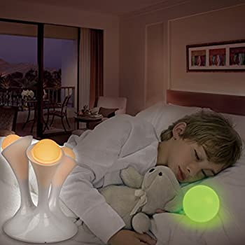GPCT LED [Portable] Multi Colored Color-Changing Mushroom Shape [Removable] Glowing Globes/Balls/Orb For Kids, Children, Infants, Baby, Bedroom, Sleeping, Camping, Mood Elevation Night Light Lamp