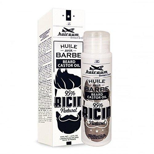 Hairgum - Huile de soin Barbe & Cheveux Ricin 40ml Hairgum