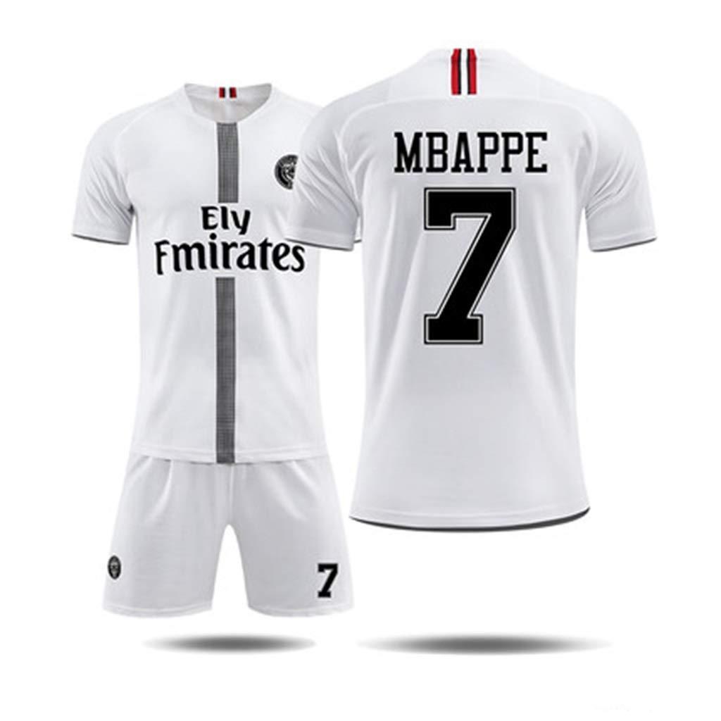 B 2XL FLYSXP TShirt Men's Football Training Suit ShortSleeved Shorts Germanic Champions League Jersey Sportswear TShirt (color   C, Size   XL)
