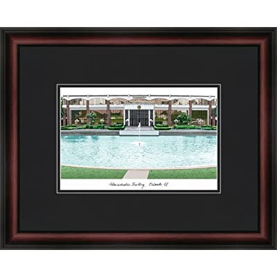 Image of Artwork Campus Images NCAA Central Florida Golden Knights Academic Framed Lithograph