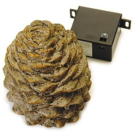 Peterson Gas Logs Decorative Pine Cone Remote Receiver Cover Real Fyre