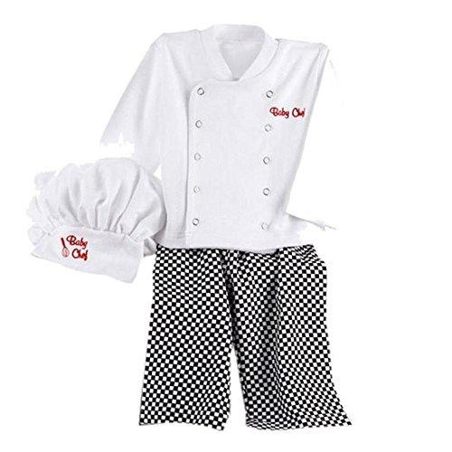 Infant Toddler Boy Cotton T-Shirt+Long Pants+Hat Clothing Sets Fancy (Prince Charming Costume 18 Months)