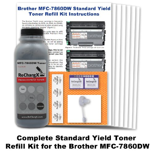 Standard Yield Refill - Brother MFC-7860dw Standard Yield Toner Refill Kit