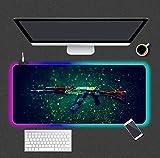 Mouse Pads Ak47 Gun Weapon RGB Gaming Mouse Pad