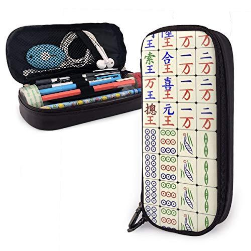 Mahjong - Estuche para lápices chinos y divertidos para niños y ...