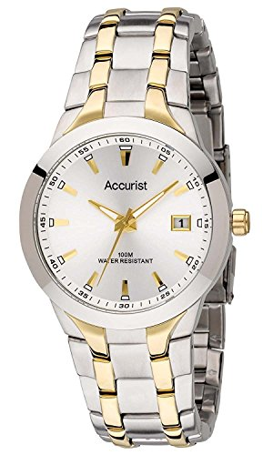 Accurist MB859S Mens Core Urban Silver Gold Watch