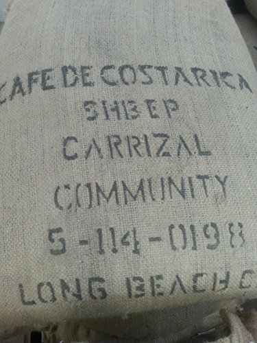 15LBS Costa Rica Carrizal Unroasted Green Coffee Beans