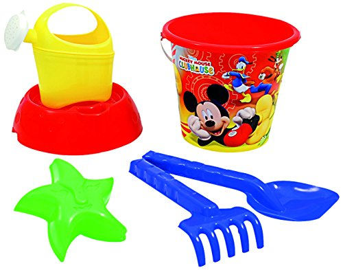 ADRIATIC 820 Trolley with Mickey Mouse Bucket Set, Multi-Color -