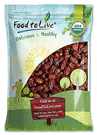 Organic Medjool Dates by Food to Live — 1 Pound