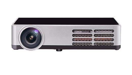 ZYWX Mini 3D HD LED 4500 Lúmenes Direct Proyectores para Cine En ...