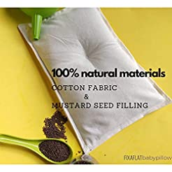 Mustard Seed Head Shaping Baby Pillow Pr...