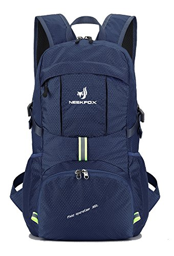 8ad79162dc49e NEEKFOX Lightweight Packable Travel Hiking Backpack Daypack - 35L Foldable  Camping Backpack Ultralight Sport Outdoor Backpack