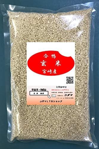 玄米、合鴨栽培 1㎏ 宮崎  綾町産