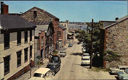 Center Street New Bedford New Bedford, Massachusetts Original Vintage Postcard ()