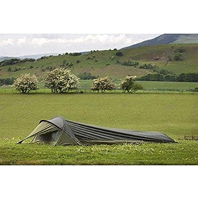 Snugpak 92860 Stratosphere Bivvi-Refugio para una Persona, Color, Unisex Adulto, Verde Oliva, Talla única