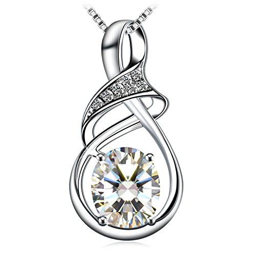 Necklace, 925 Sterling Silver Pendant Necklace J.Rosée Fine Jewelry