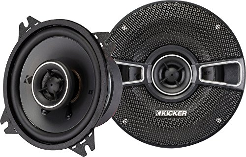 "Kicker 41KSC44 4"" 2-Way Coaxial Speaker - Pair"