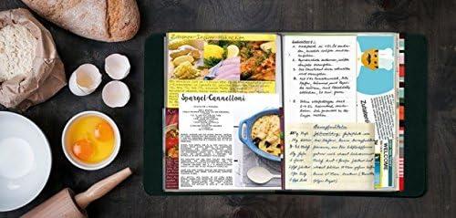 Remember Livre de recettes TasteBook, album de recettes, motif: rayures fines