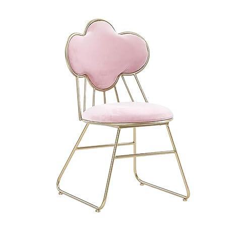 pretty nice 96a2f a973c JHSLXD Dressing Table Makeup Chair Creative Fluff Fabric ...