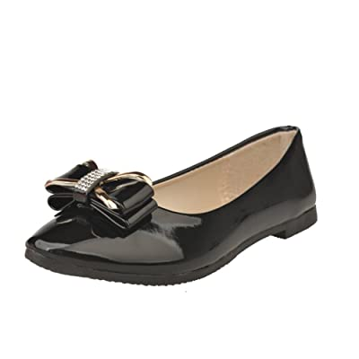 Shallow-mouth Butterfly-knot Flat Shoes/Flat And Fashion Hundred Korean Women's Shoes