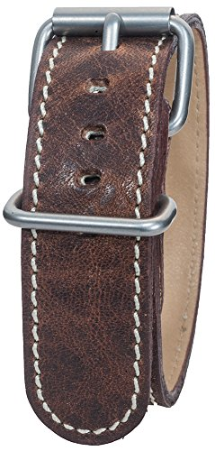 Bertucci B-126M Montanaro Survival Horween Leather Nut Brown - Bertucci Watch Bands Leather