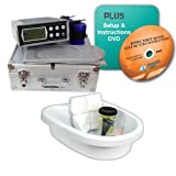 Ionic Detox Foot Bath System with Infrared and Accessories - No Wrist Strap + DVD