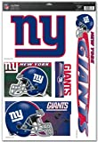"NFL New York Giants 03784051 Multi Use Decal, 11"" x 17"""